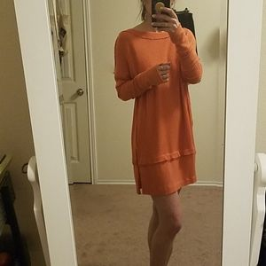 Free People Long Sleeved Shirt Dress Size S
